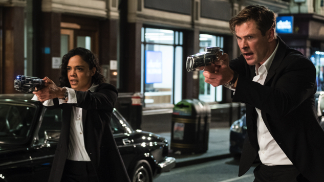 Chris Hemsworth, Tessa Thompson Suit up in First <i>Men in Black: International</i> Trailer