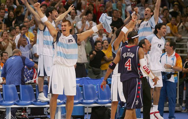 That One Time They Lost: On the Team USA Men's Basketball Disaster in Athens