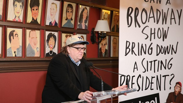 Michael Moore Wants to Take Down Trump With a Broadway Play