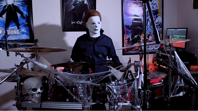 Watching Michael Myers Rock the Drums Is the Best, Weirdest Four Minutes You'll Spend Today