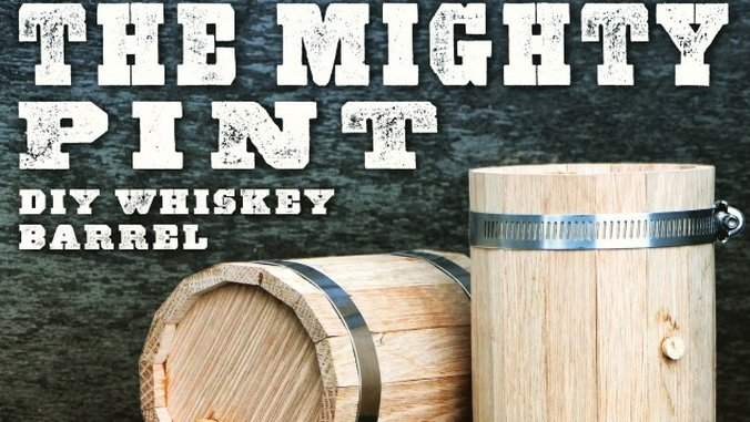 Mighty Pint Review: The Age-Your Own Spirit Mini-Barrel