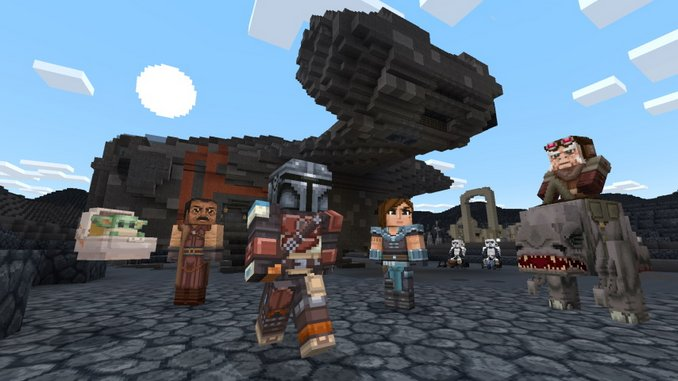 <I>Minecraft</I>'s Star Wars DLC Features Impressive Builds, But Is Weird to See on the Marketplace
