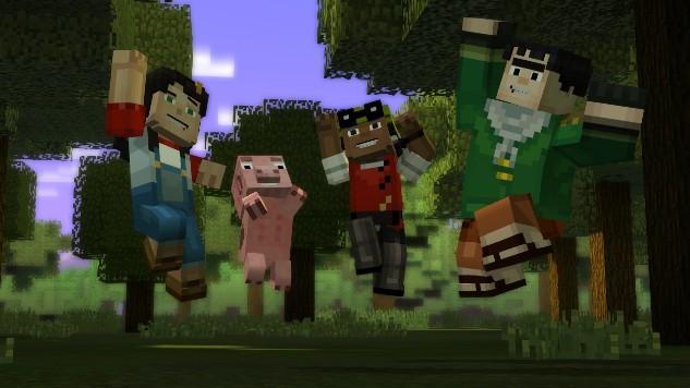 <i>Minecraft: Story Mode</i> Episodes 1-3 Review: Blockheaded