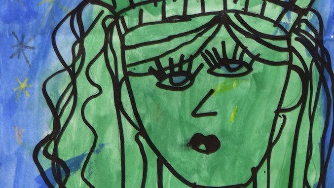 First-Grader Now Has Picasso-esque Painting Hanging in The Met