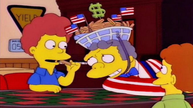 Cooking <i>The Simpsons</i>: Million Dollar Birthday Fries