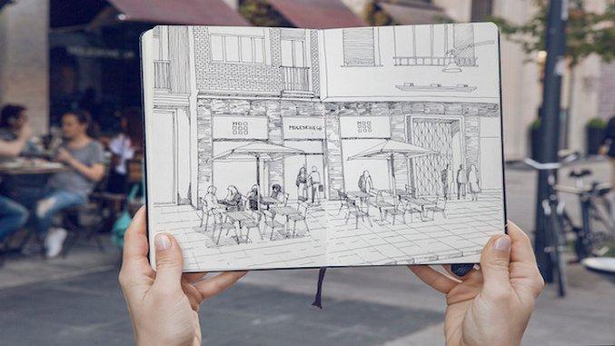Moleskine Opens a Cafe in Milan