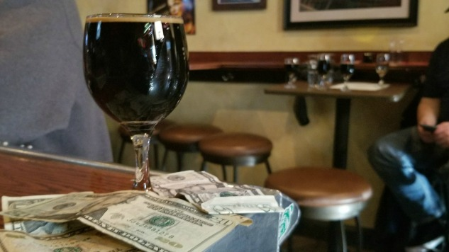 This Beer Was Brewed With Pizza and Money