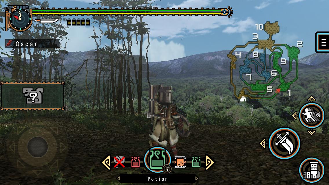 "Generateur ""Monster Hunter"" mod"