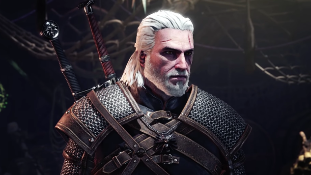 <i>The Witcher</i>'s Geralt, <i>Iceborne</i> Expansion Coming to <i>Monster Hunter: World</i>