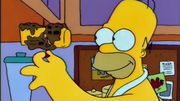 Cooking <i>The Simpsons</i>: Moon Waffles