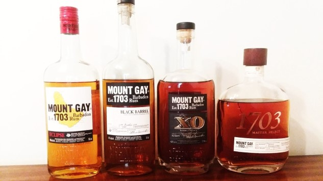 A Whiskey Drinker's Tasting of Four Aged Mount Gay Rums