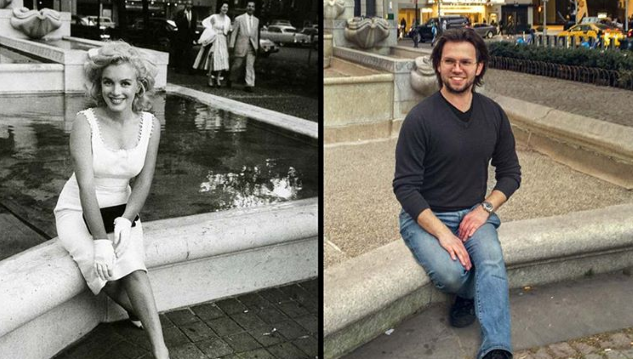 This Movie-Loving Instagrammer Locates and Recreates Classic Film Locations