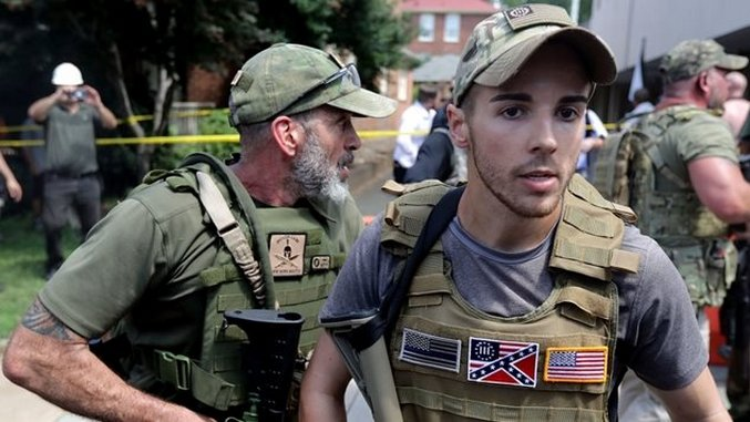 White nationalist fired from his job at Charlottesville rally
