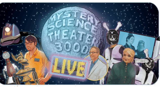 <i>MST3K</i> is Going on the Road for a 29-City Live Tour