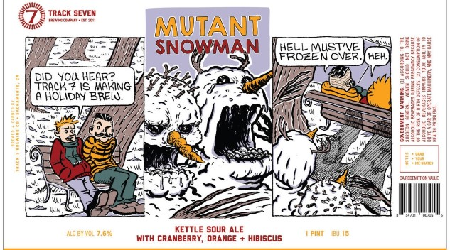 Check Out This Whimsical, <i>Calvin and Hobbes</i>-Inspired Beer From Track 7 Brewing