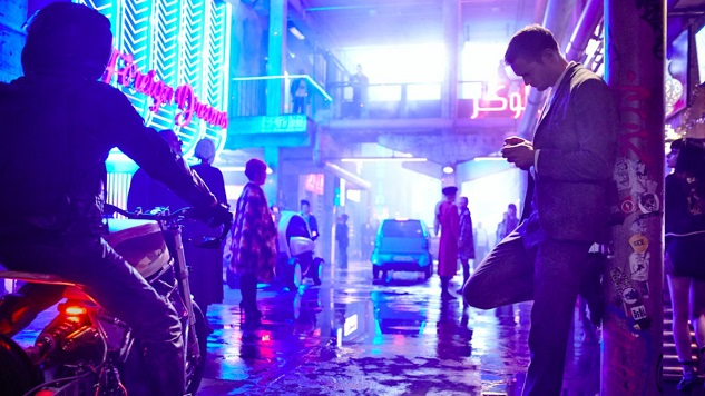 First Images Released for <i>Mute</i>, Duncan Jones' Sci-Fi Film for Netflix