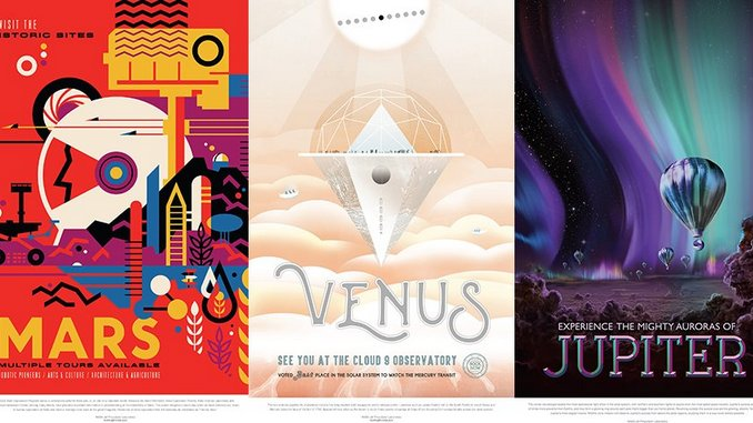 Collect NASA's 14 Futuristic Posters