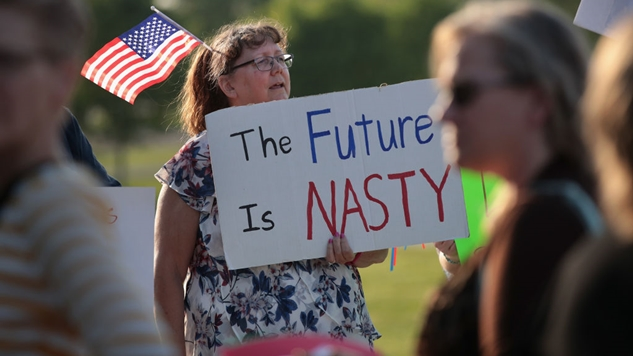 """Does That """"Nasty Woman"""" T-Shirt Defeat Its Own Purpose?"""