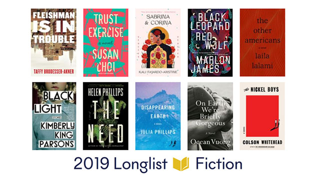 2019 National Book Awards Longlist for Fiction Revealed