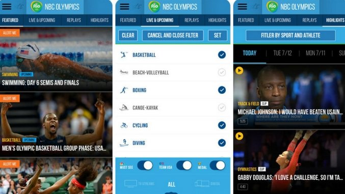 10 Essential Apps for the Rio Olympics