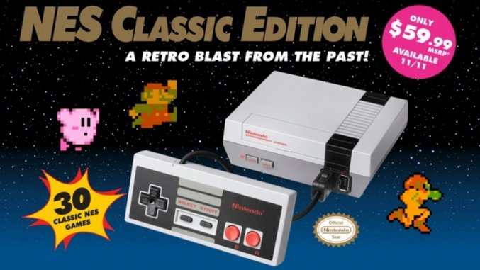The NES Classic is Not Just a Flashback