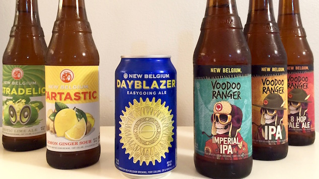 Tasting and Ranking 6 New Beers from New Belgium