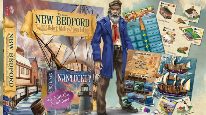 """""""Cute"""" Isn't an Insult For the Great Boardgame <i>New Bedford</i>"""