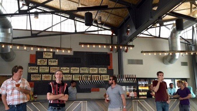 Inside New Belgium's Brand New Asheville Taproom