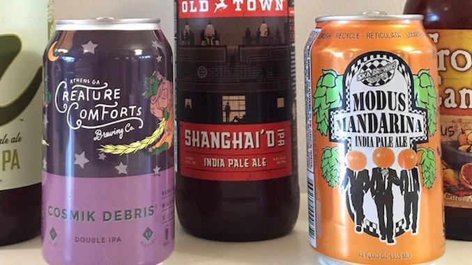 Tasting 6 (Mostly) New IPAs :: Drink :: Paste
