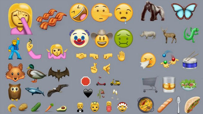 There are 72 New Emojis, Including Avocado, Facepalm