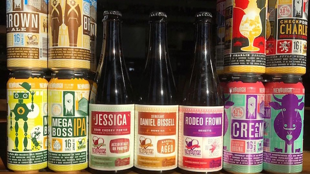 Labels We Love: Newburgh Brewing Company