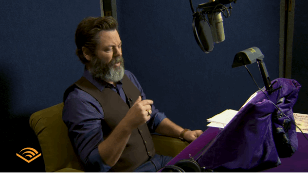 Listen to Nick Offerman Narrate Mark Twain's <i>Connecticut Yankee in King Arthur's Court</i>