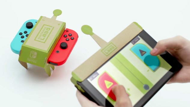 Nintendo Labo Is For Families With Young Kids—And That's OK