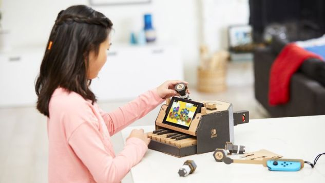 Nintendo Will Get You to Play with Cardboard with Nintendo Labo
