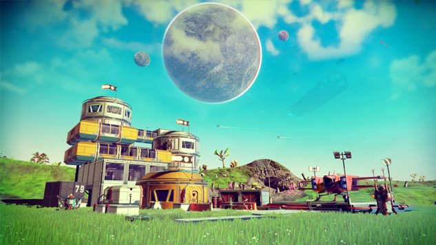 The Relaxing <i>No Man's Sky</i> Only Forces You into Menial Labor if You Let It