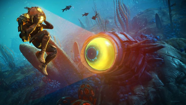 """Explore the Underwater Depths of <i>No Man's Sky</i> with Free Update, """"The Abyss"""""""