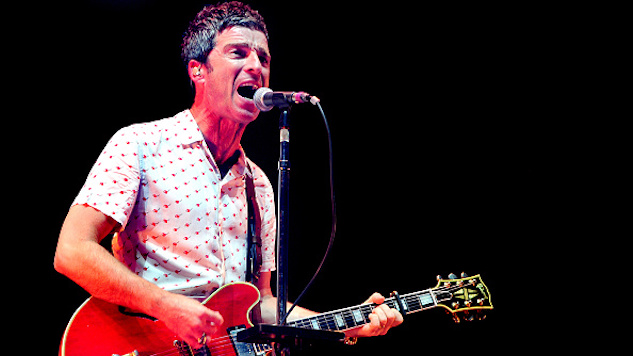 """Noel Gallagher's High Flying Birds Go '80s Retro With Their New Music Video, """"She Taught Me How To Fly"""""""