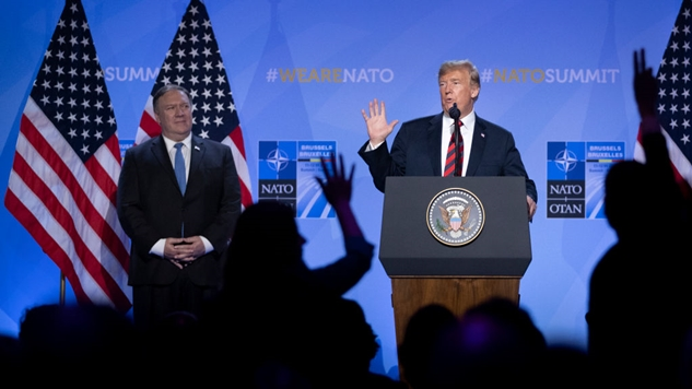 No, the U.S. and NATO Didn't Threaten to Start World War Three With Russia Today