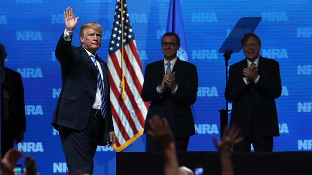 "Senate Judiciary Committee: Kremlin ""Used the NRA as a Means of Accessing and Assisting Mr. Trump and His Campaign"""