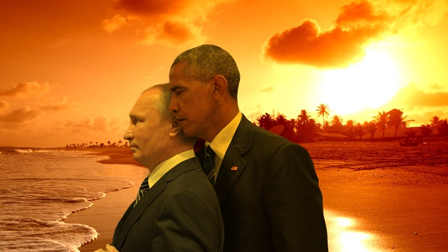 Obama and Putin's Staredown Gets the Photoshop Battle Treatment