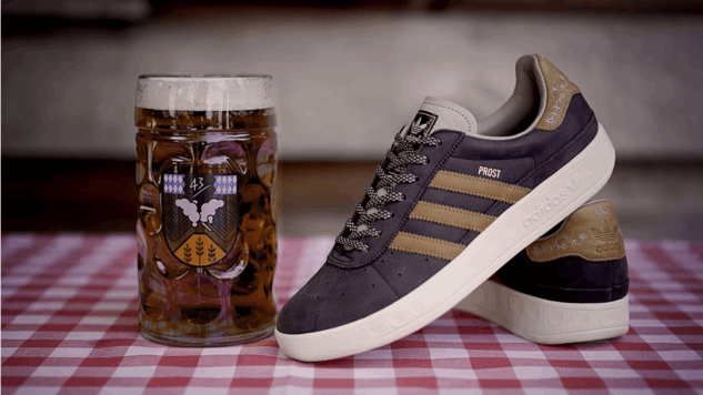 """Adidas Is Making """"Beer and Puke Repellent"""" Shoes for Oktoberfest"""