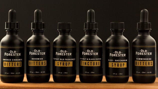 """Old Forester Launches """"Cocktail Provisions"""" Line of Bitters, Syrups and Tinctures"""