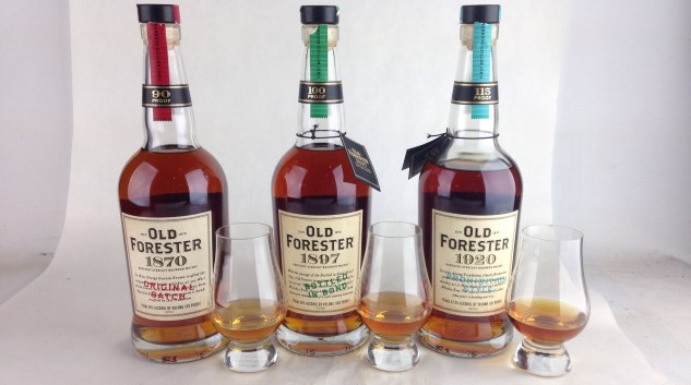 Old Forester's Whiskey Row: Tasting all Three Bottles of Bourbon
