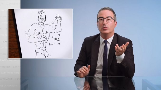 John Oliver Breaks Down Our Broken Asylum System—in Case You Didn't Have Enough to Worry About