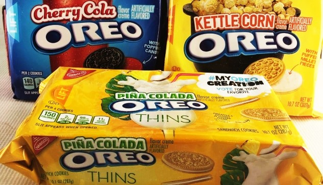 "Review: Oreo's Horrifying New ""Cherry Cola,"" ""Kettle Corn"" and ""Piña Colada"" Flavors"