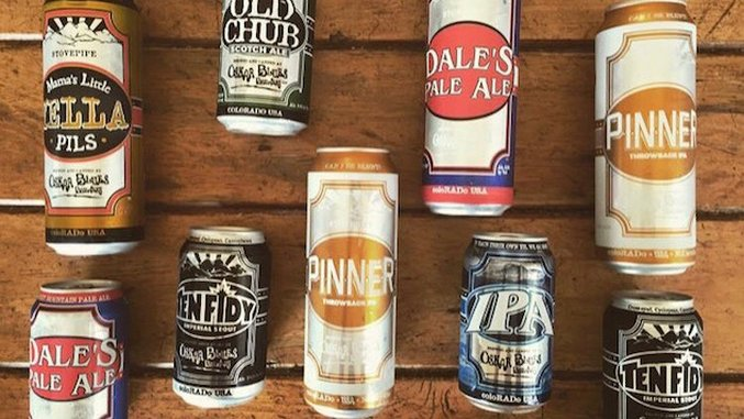 Top 5 Beers from Oskar Blues
