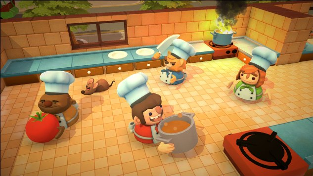 <i>Overcooked</i> Is Exactly Like Working in a Kitchen, Even When It's Not