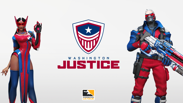 <i>Overwatch</i> League Welcomes the Washington Justice