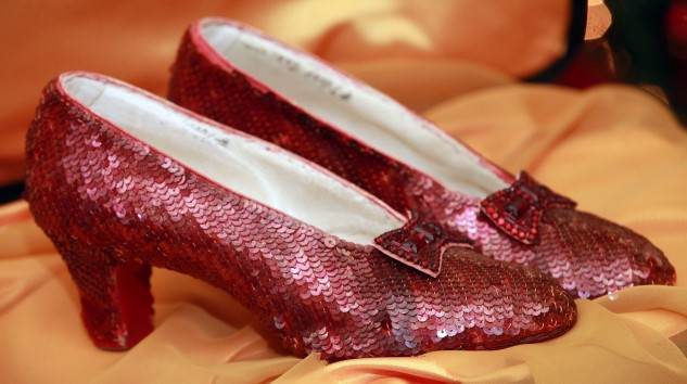After Being Stolen 13 Years Ago, Judy Garland's Ruby Slippers Have Been Found