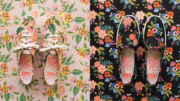 Rifle Paper Co. and Keds Teamed Up to Bring Us Flirty Spring Styles